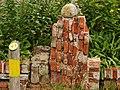 Bezoekerscentrum Nationaal Park De Alde Feanen Tuinelementen ten behoeve van vlinders en insecten in de vlindertuin..JPG
