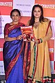 Bhavna Somaiya, Jaya Prada at the launch of T P Aggarwal's trade magazine 'Blockbuster' 04.jpg