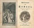 Bibliothek der Romane vol 9 titlepage 1783.jpg