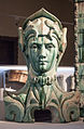 Bigot - Lavirotte - Larrivé - Bust, attic element with green-glaze.jpg