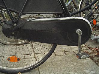 Gear case - Image: Bike chain guard full
