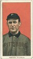 Bill Abstein, Pittsburgh Pirates, baseball card portrait LCCN2008676536.tif