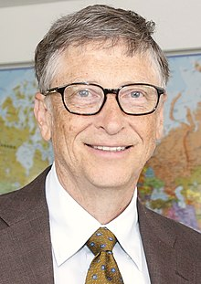 Head and shoulders photo of Bill Gates