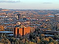 Billings, Montana-MSUB cropped to downtown.JPG