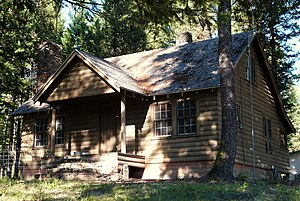 National Register of Historic Places listings in Wallowa County, Oregon - Image: Billy Meadows residence Wallowa Whitman NF Oregon