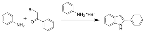 Bischler-Möhlau indole synthesis - Wikipedia, the free encyclopedia