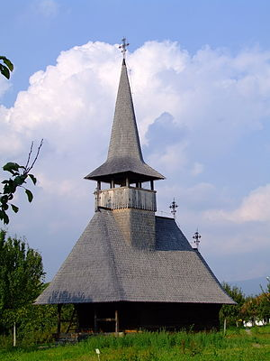 Negrești-Oaș - Lechința Wooden Church, Oaș Country Museum