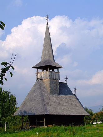 Oaș Country - Image: Biserica Lechinta
