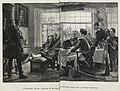 Blücher empfängt bei Genappes die erbeuteten Orden, Hut und Degen Napoleons.jpg