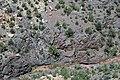 Black Canyon Formation (Paleoproterozoic, 1.759 Ga; Cold Shivers Point, Columbus Canyon, Colorado National Monument, Colorado, USA) 10 (23349412194).jpg