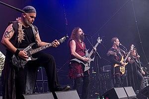 Black Messiah auf dem Metal Frenzy Festival 2017 in Gardelegen