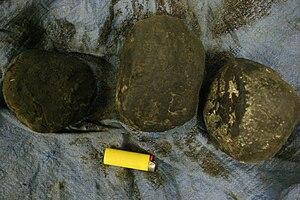 Golden Crescent - Black tar opium seized in Afghanistan, spring 2005