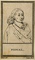 Blaise Pascal. Line engraving after G. Edelinck after F. Que Wellcome V0004509ER.jpg