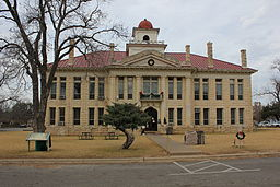 Blanco County Courthouse, Johnson City, Texas (8699665467).jpg