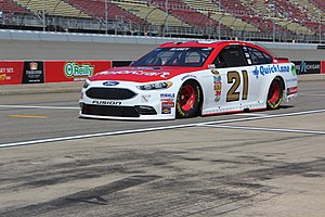 Ryan Blaney - Blaney during practice for the 2016 Pure Michigan 400