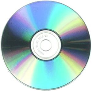 English: Image of a Blank CD Source: Owner