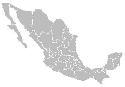 TemplateList LDS Temple Mexico Map Wikipedia - Blank map of southwest us and mexico