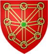 The new blazon of Navarre.