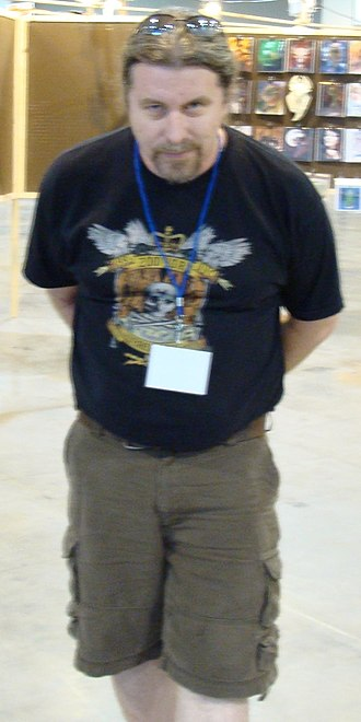 Bob Eggleton - Bob Eggleton at Worldcon in Denver in 2008