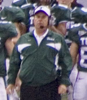 Bob Toledo - Toledo coaches Tulane in 2007.