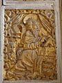 Bodilis (29) Église Notre-Dame Autel et retable de Saint-Jean l'évangéliste 03.jpg