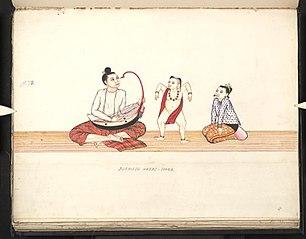 Burmese harps - Soung
