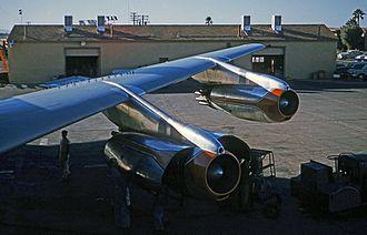 Pratt & Whitney J57 - JT3Cs installed on a Boeing 707-123