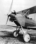Boeing 81 closeup of 125 hp Fairchild-Caminez 4-cylinder radial engine.jpg