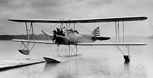 Boeing Model 64 - Boeing model 64 on floats - front
