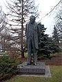 Bolesław Prus statue, Warsaw.jpg