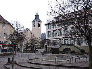 Bad Boll Place in Baden-Württemberg, Germany