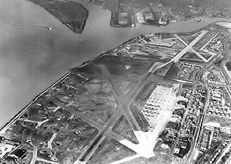 Joint Base Anacostia–Bolling - Bolling Field and Anacosta Naval Air Station, mid-1940s