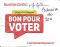 Bon pour voter à la primaire socialiste du 16-10-2011.jpg