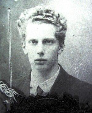 Boris Blacher - Blacher, in a passport photo of 1922