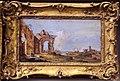 Bottega di francesco guardi, capriccio con rovine e casa di pescatori, 1750-1790 ca..JPG