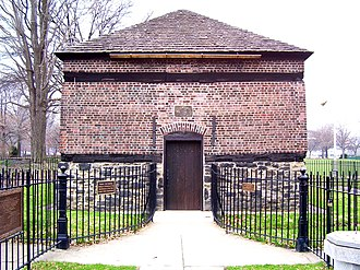 Pittsburgh - Fort Pitt Blockhouse, built by the British in 1764, oldest extant structure in Pittsburgh.