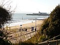 Bournemouth, view towards the pier from the East Cliff - geograph.org.uk - 1632622.jpg