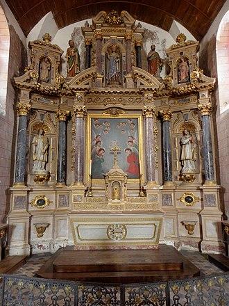 Tugal Caris - Image: Brée (53) Église 06
