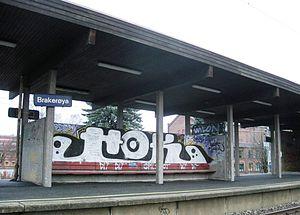 Brakerøya Station - Brakerøya station (2009)