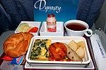 Breakfast on CI China Airlines flight.jpg