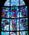 Bregenz Pfarrkirche Mariahilf Fenster Kreuzigung 2.jpg