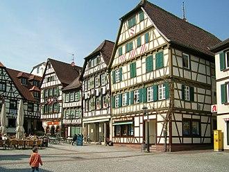 Bretten - Image: Bretten Marktplatz