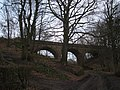 Bridge, former railway line - geograph.org.uk - 1090382.jpg