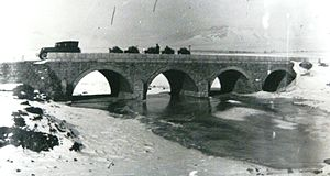 Dragor (river) - Bridge on the River Dragor near the area Dovledzik in Bitola, 1916