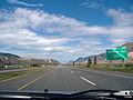 British Columbia Highway 1 just east of Kamloops heading westbound..jpg