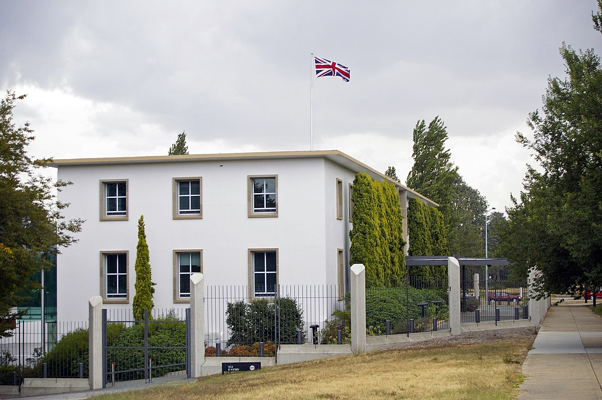 Admirable British High Commission Canberra Wikipedia Home Interior And Landscaping Ologienasavecom