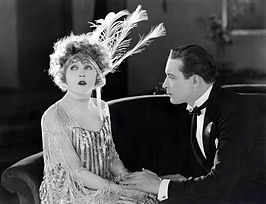 Mae Murray en Monte Blue in Broadway Rose