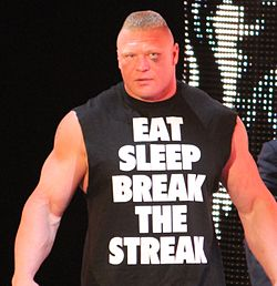 Lesnar a Raw nell'aprile 2014.