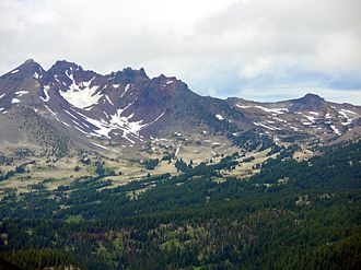 Crook Glacier - Crook Glacier near summit of Broken Top