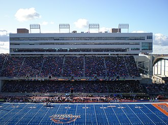 Famous Idaho Potato Bowl - Blue turf of Albertsons Stadium